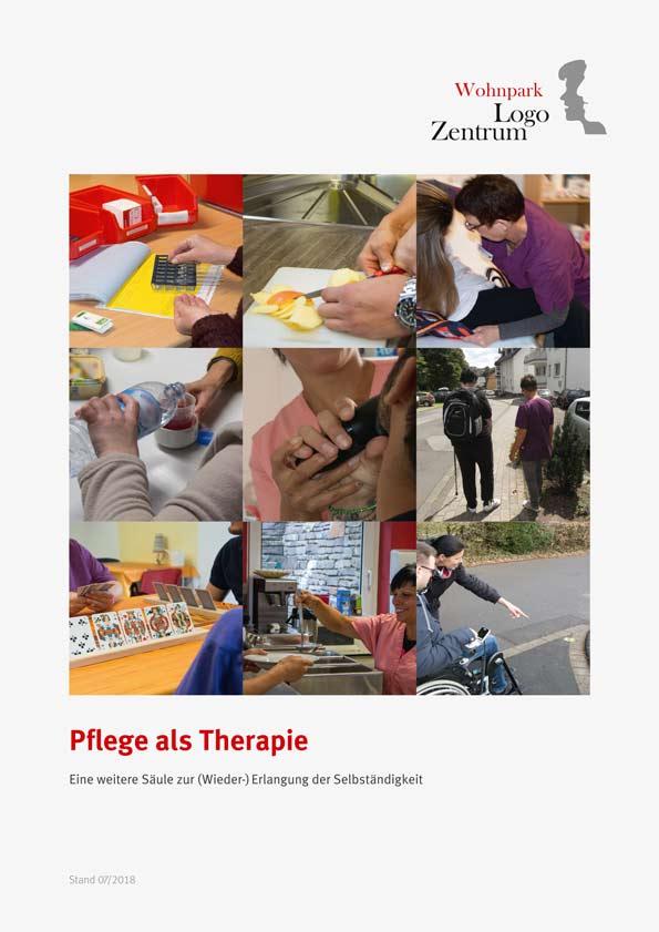 Broschüre Pflege als Therapie