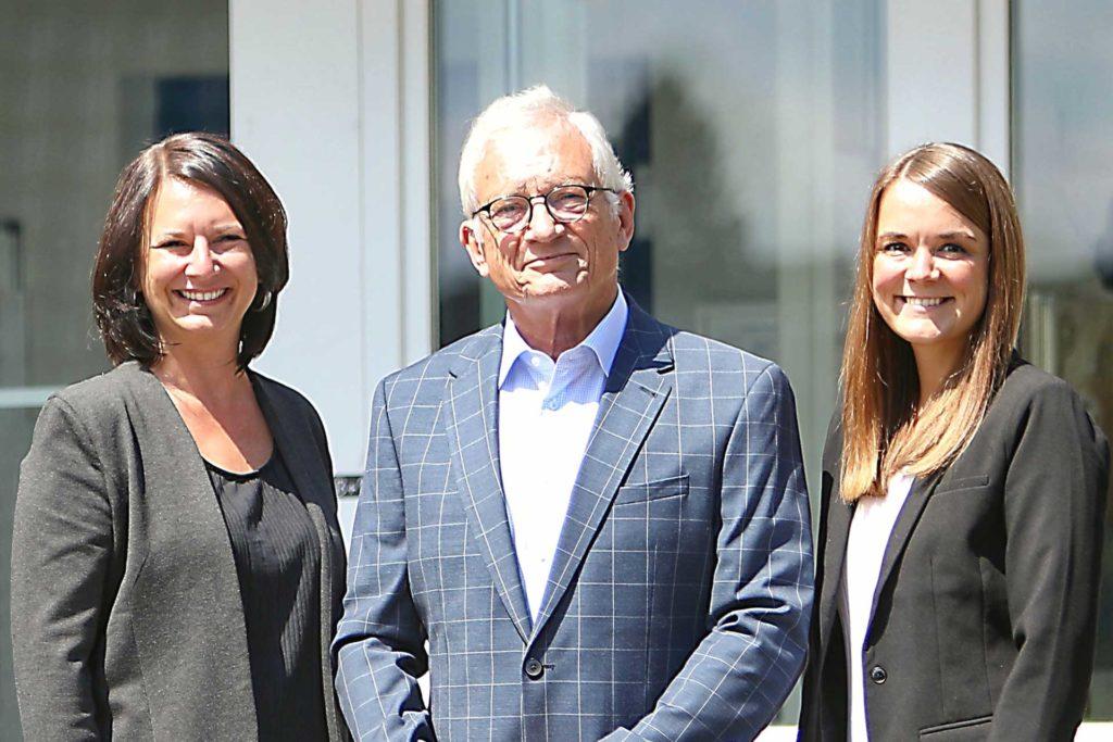 Tina Keck, Dr. Volker Middeldorf, Katharina Wagener